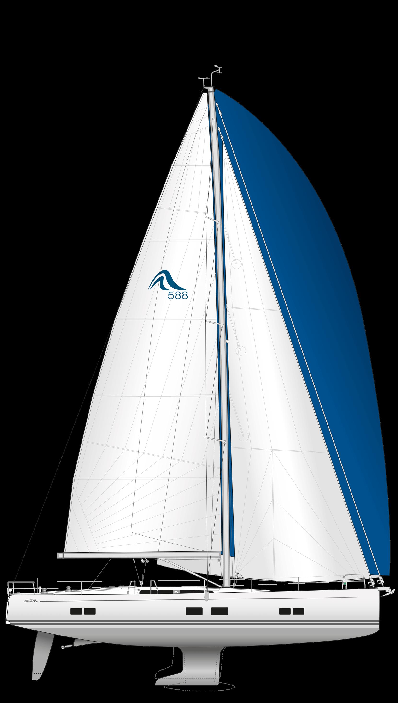 Hanse 588