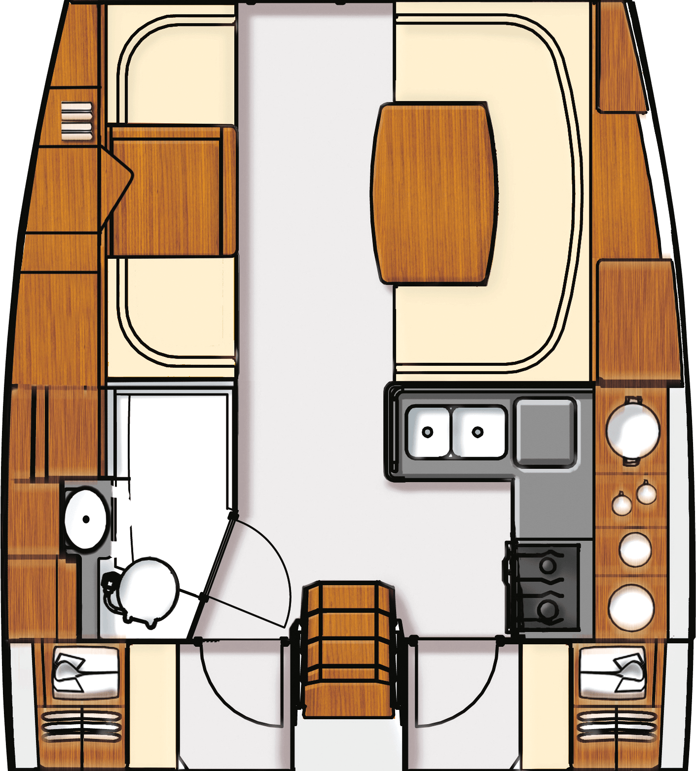 Layouts for Aft Cockpit 41