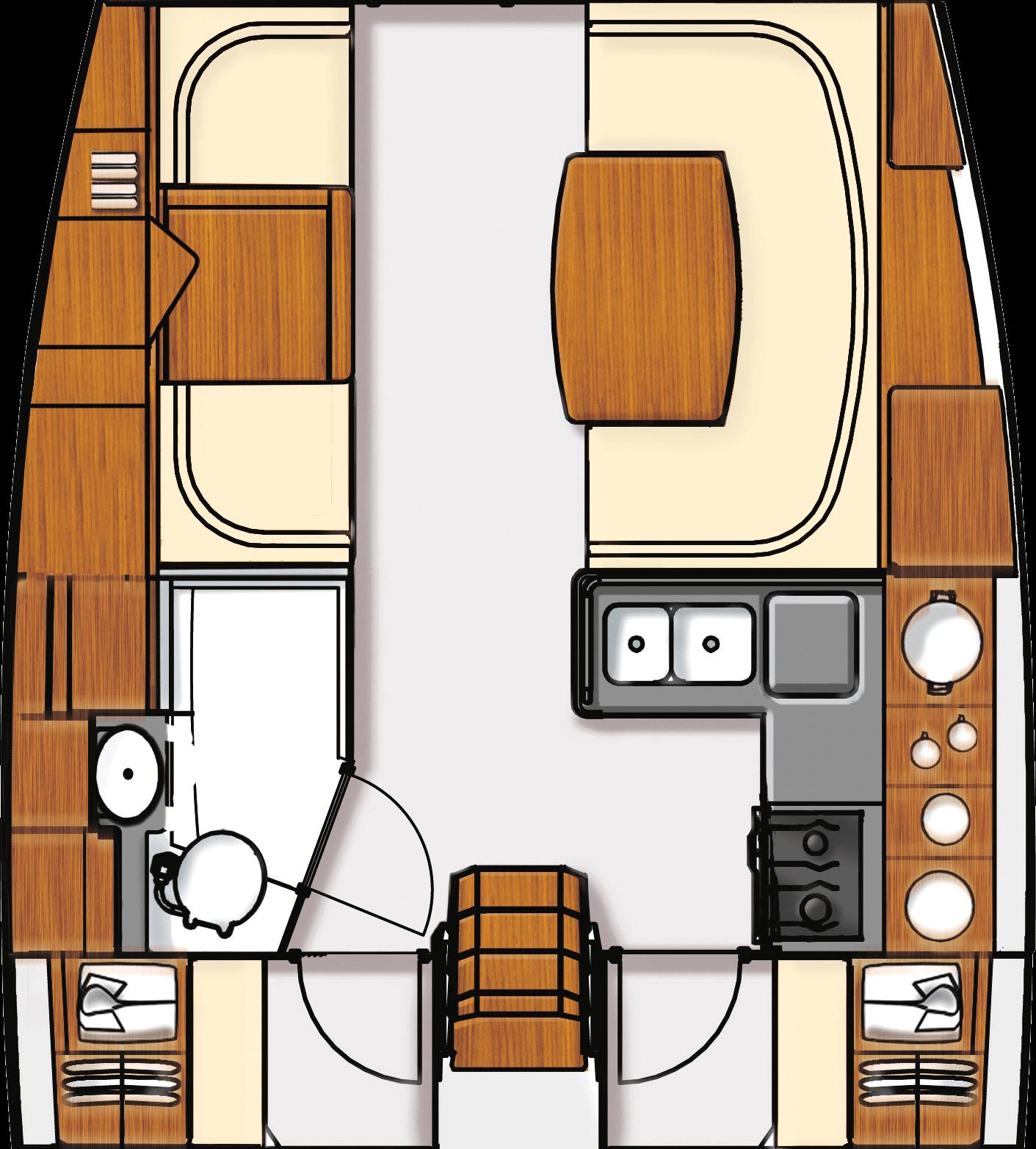 Макеты для Aft Cockpit 41