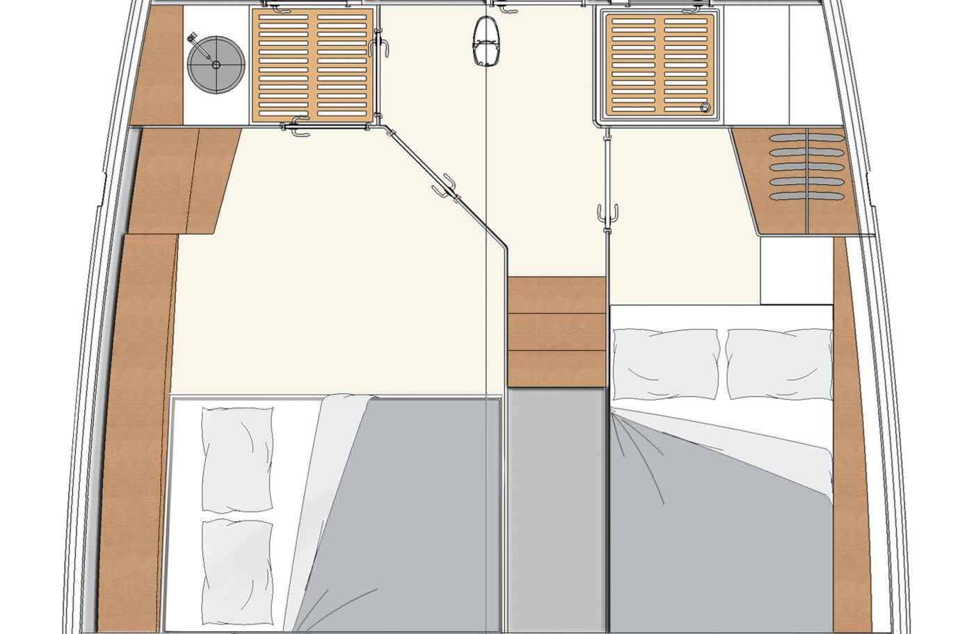 Layouts for Decksaloon 54