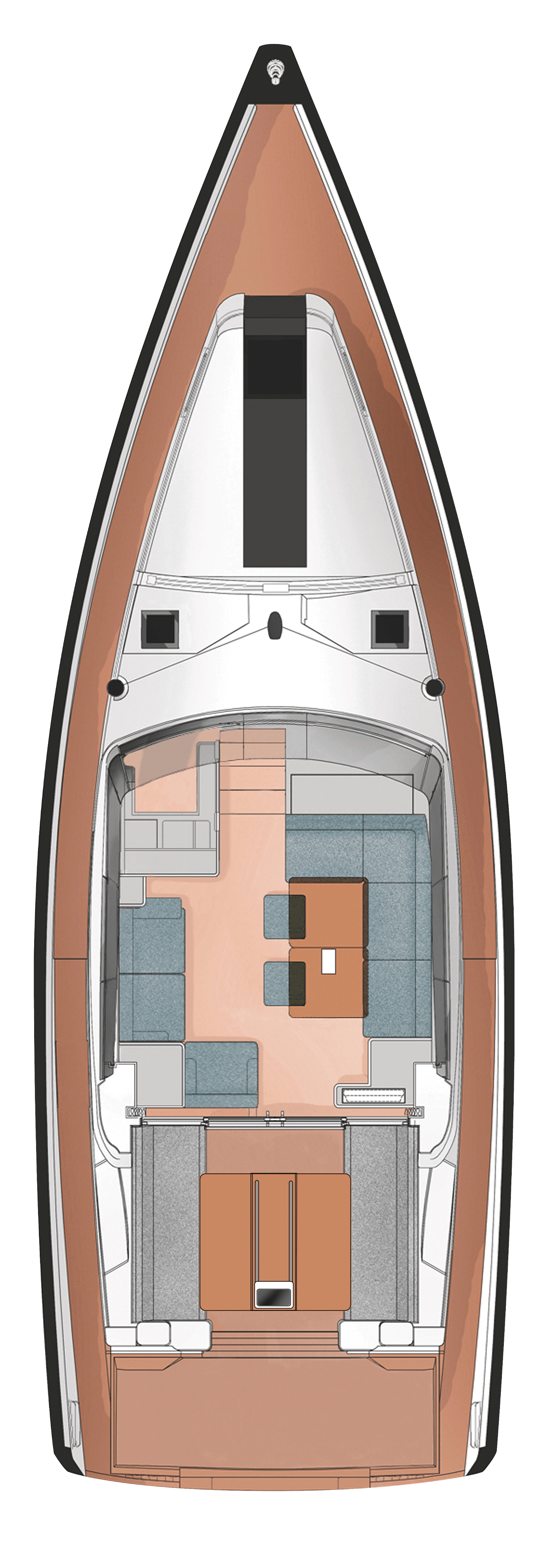 Layouts for Decksaloon 45