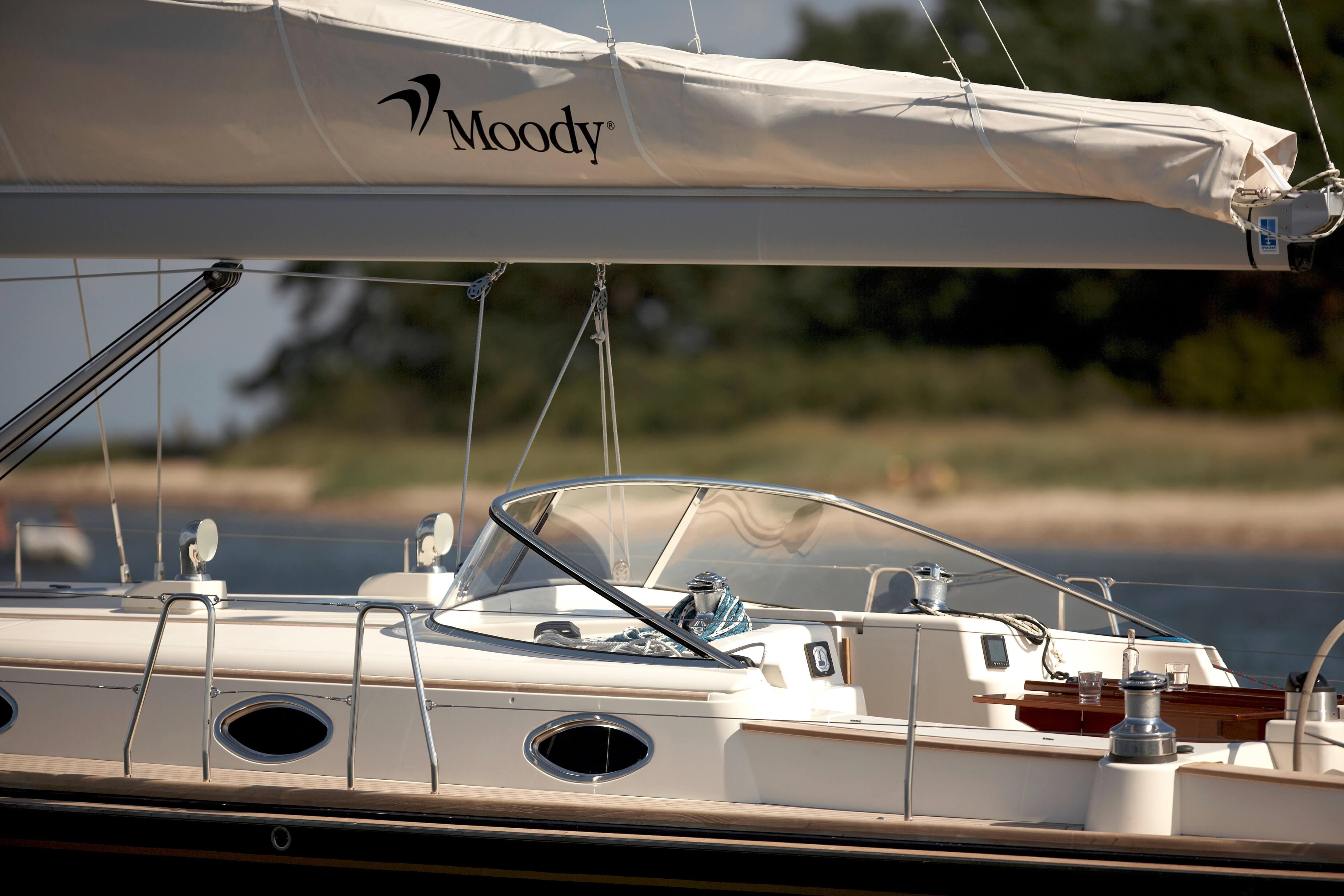 Moody Aft Cockpit 45 Exterieur | Moody