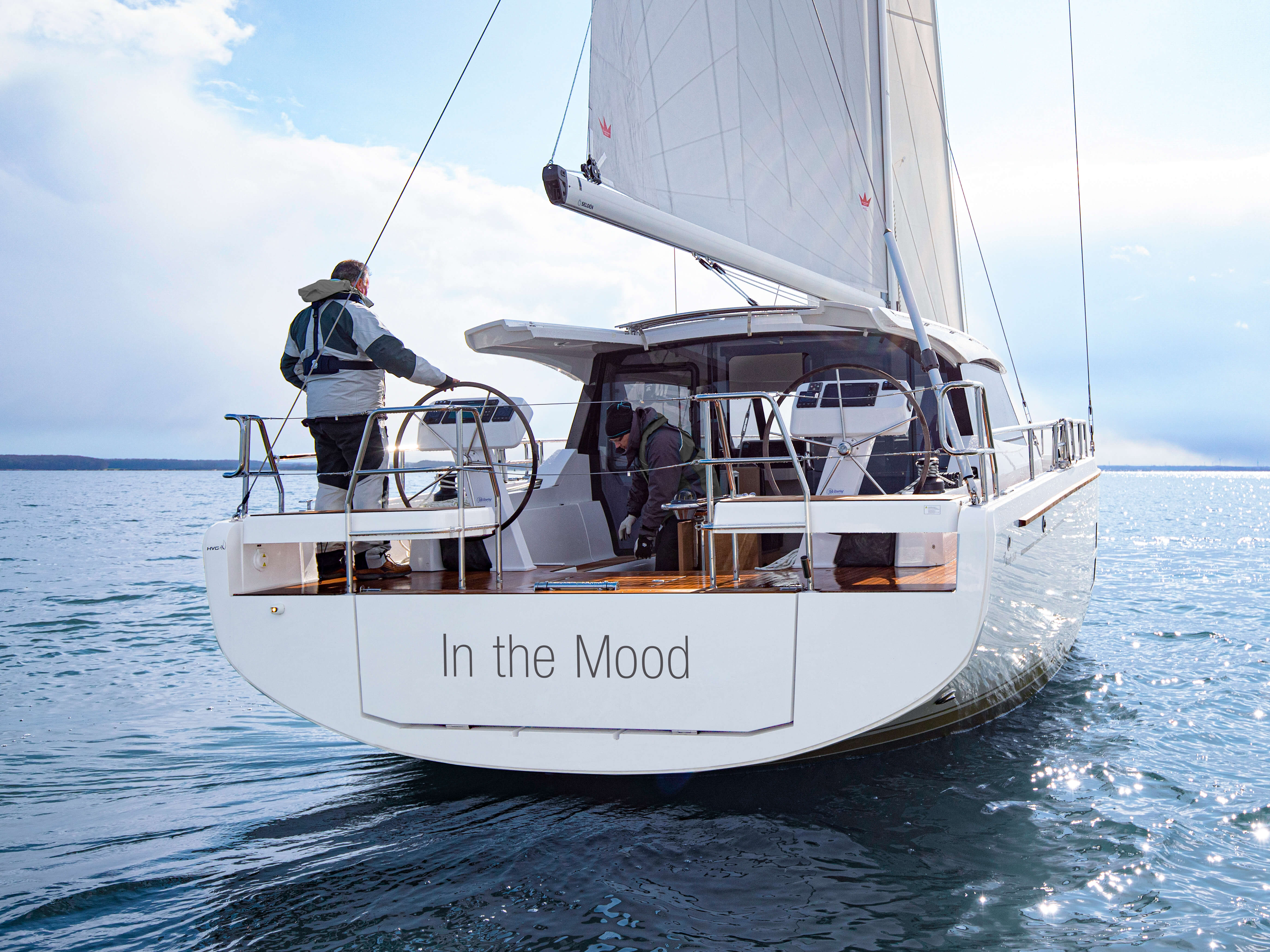 Moody 41 Decksaloon | Moody