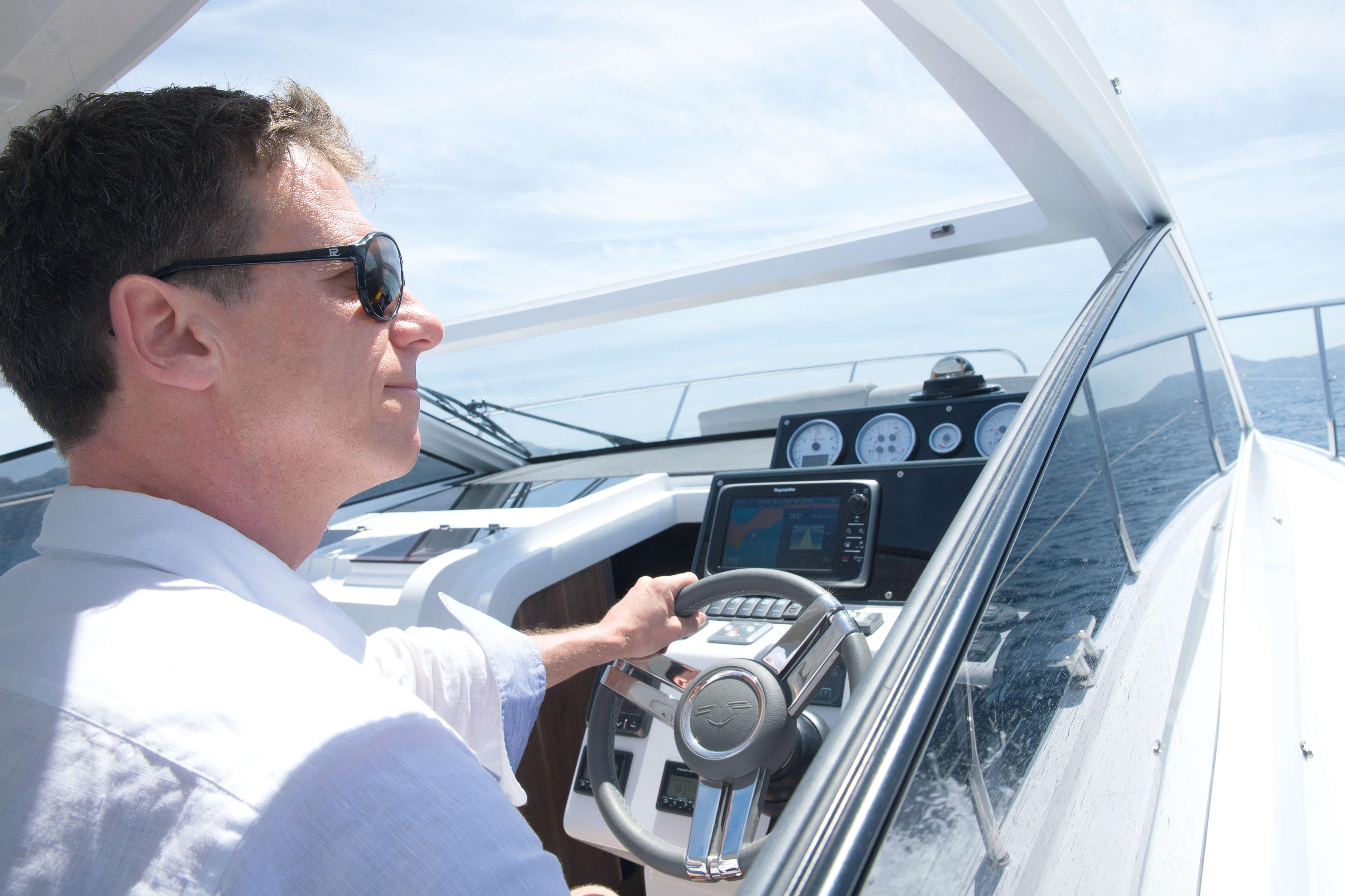 Exterior ride | cockpit, steering wheel | Sealine