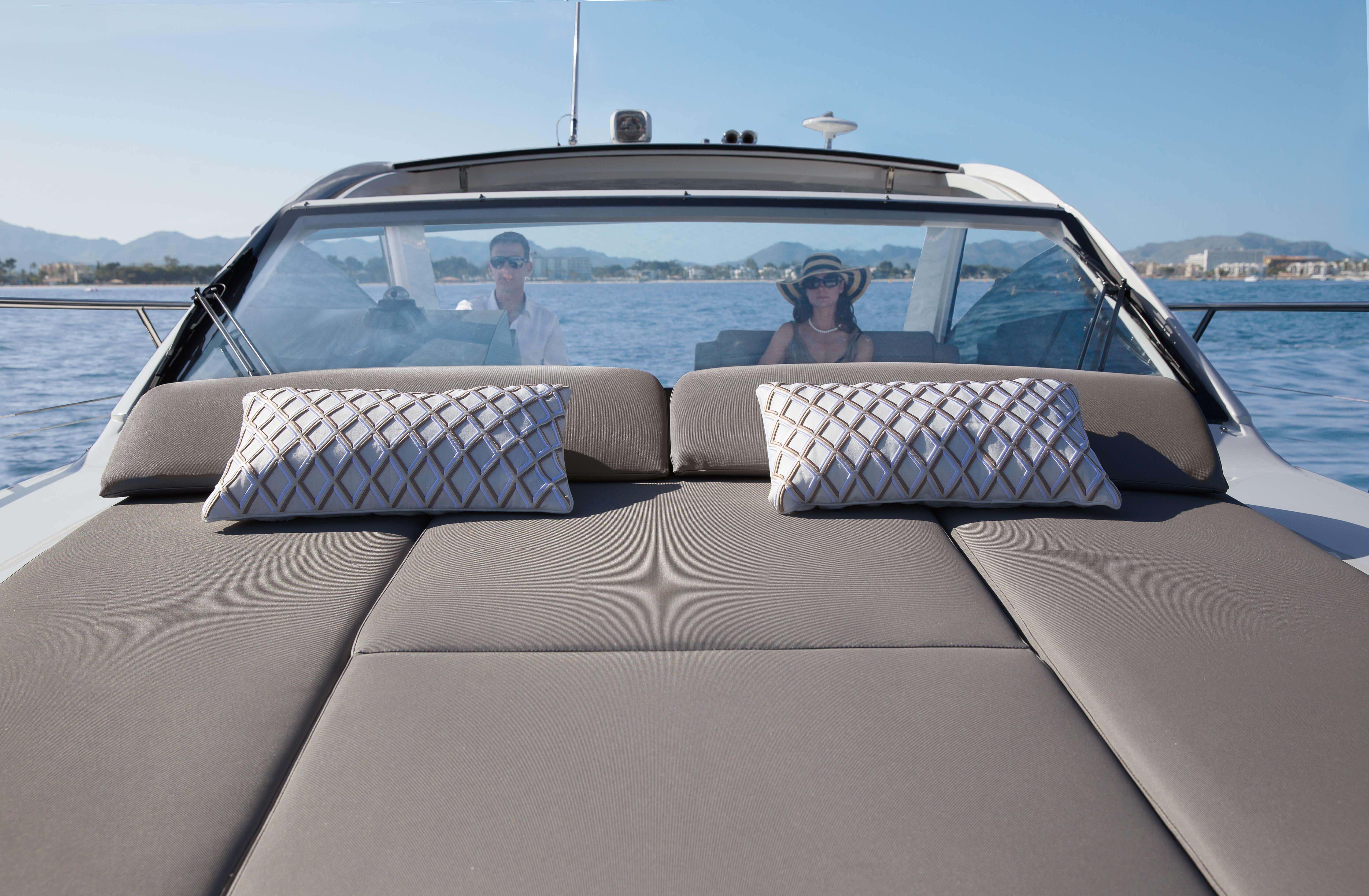 Außenansicht Fahrt | Sonnendeck | Sealine