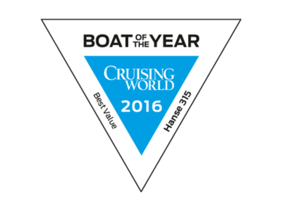 Hanse 315 Boat of the Year (Cruising World) 2016
