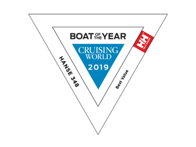 Hanse 348 - Boat of the Year (Cruising World) 2019