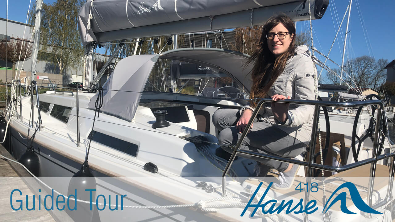 Hanse 418 Guided Tour