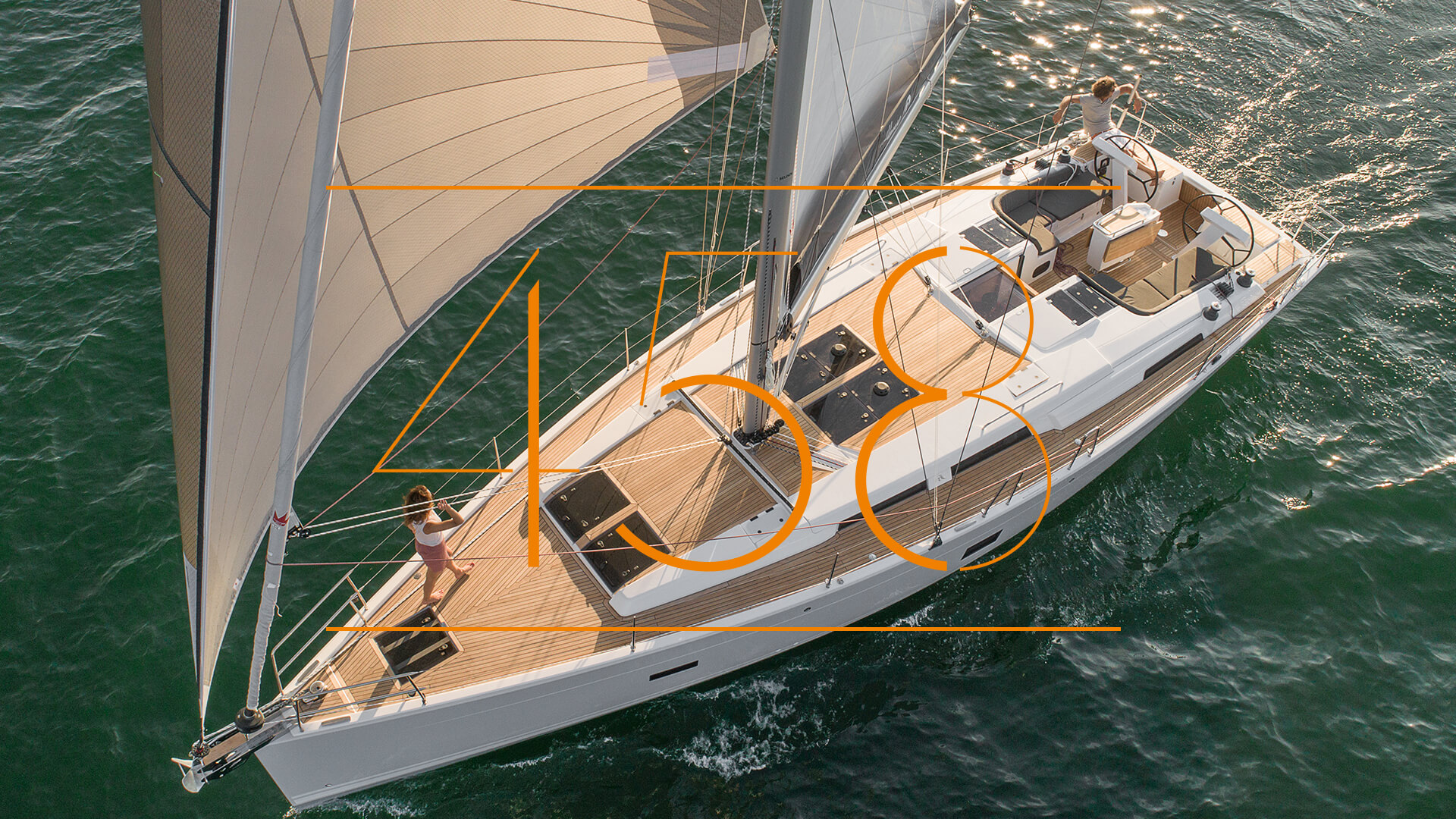 Hanse 458 explained in detail