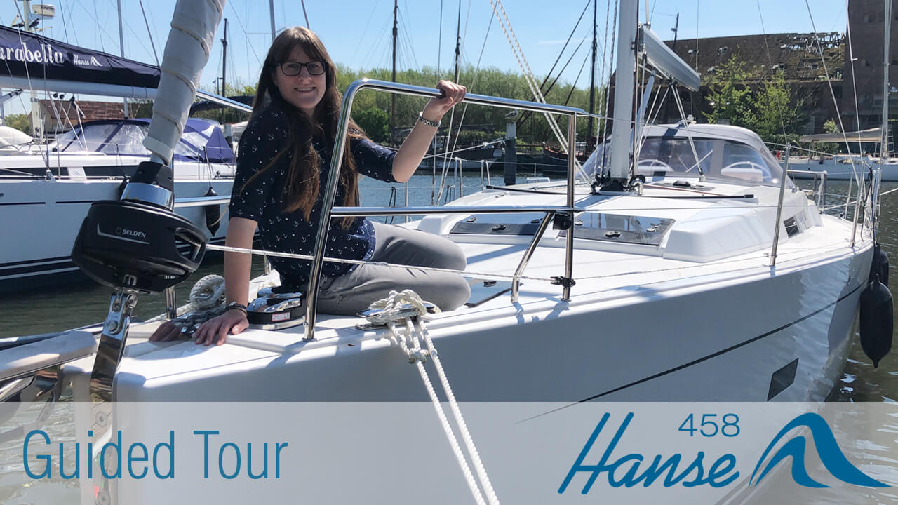 Hanse 458 Guided Tour