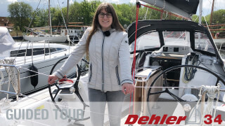 Dehler 34 Guided Tour