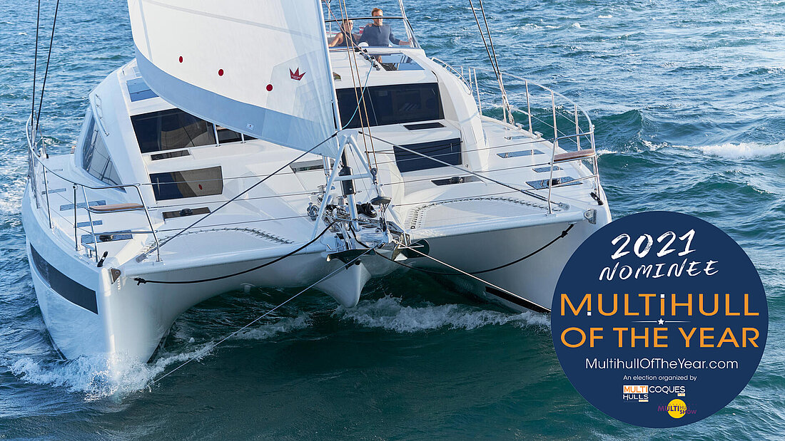 "Privilège Signature 510 nominated as ""Multihull of the Year 2021"""